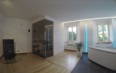 Ambiente sauna a Poschiavo